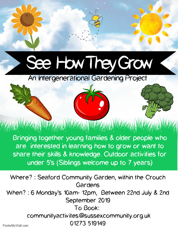 See how they grow Flyer