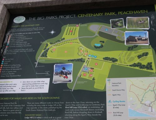 """Love Parks"" week – Peacehaven Cycle Hub"
