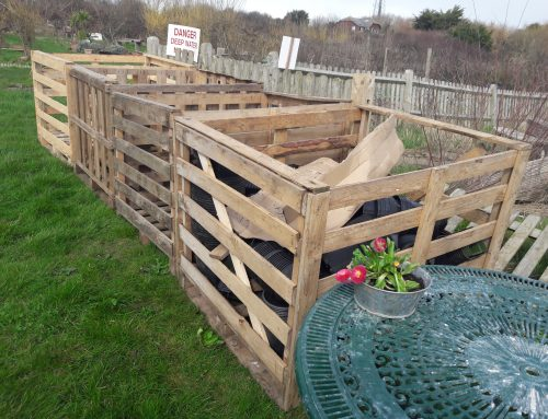 Recycling Pallets, Zen and the art of compost maintenance