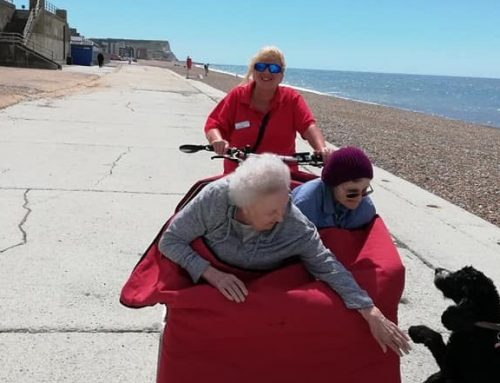 Cycling without Age – Seaford chapter
