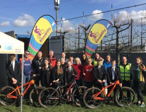 Peacehaven Community School promotes cycling in the community